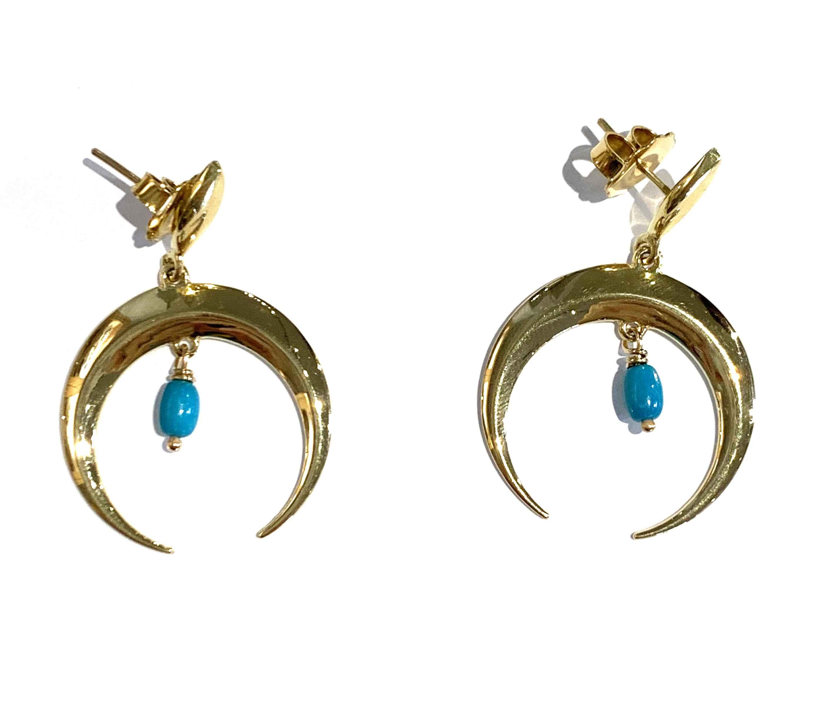 New Moon Earrings by  Victoria Adams - Masterpiece Online