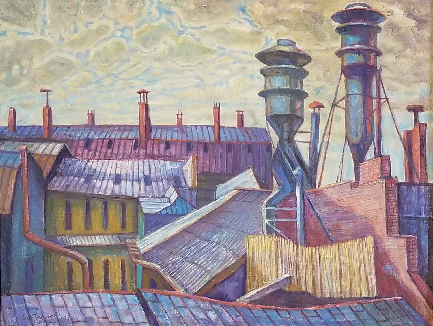 Rooftops by Mr. Santos Zingale - Masterpiece Online
