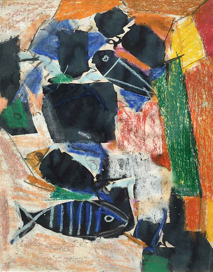 Untitled (Fish Study) by  Vaclav Vytlacil - Masterpiece Online