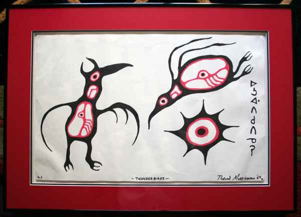 Thunderbirds ( Set of... by  Norval Morrisseau - Masterpiece Online