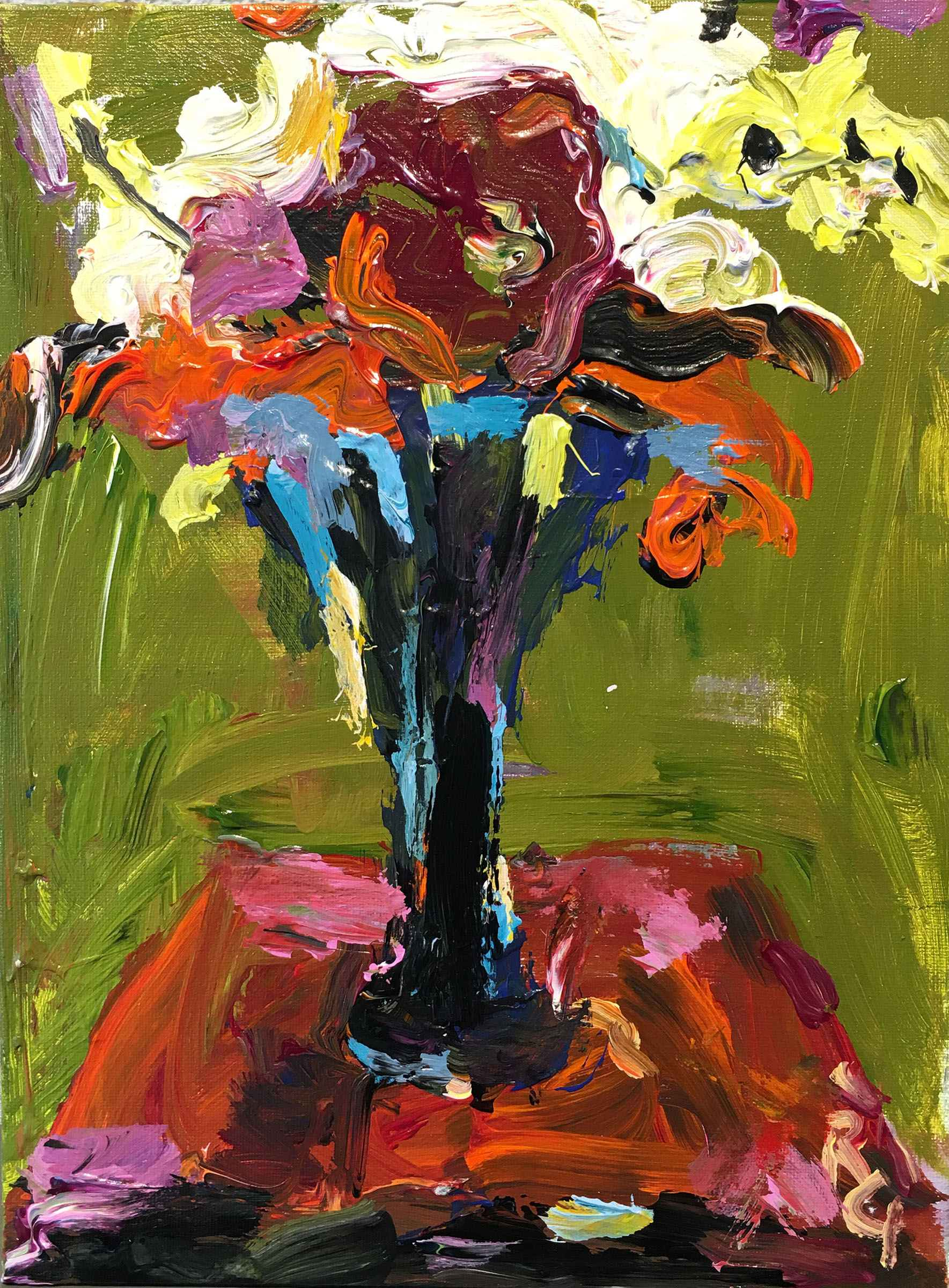 Floral 2 by  Rita Guile - Masterpiece Online