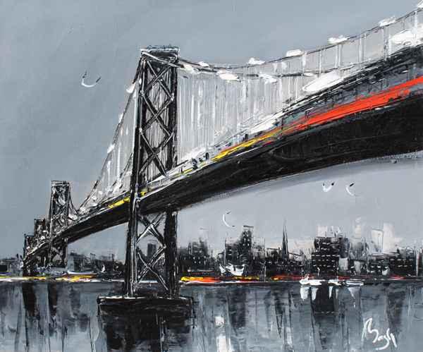 Bay Bridge by  Louis  Magre - Masterpiece Online