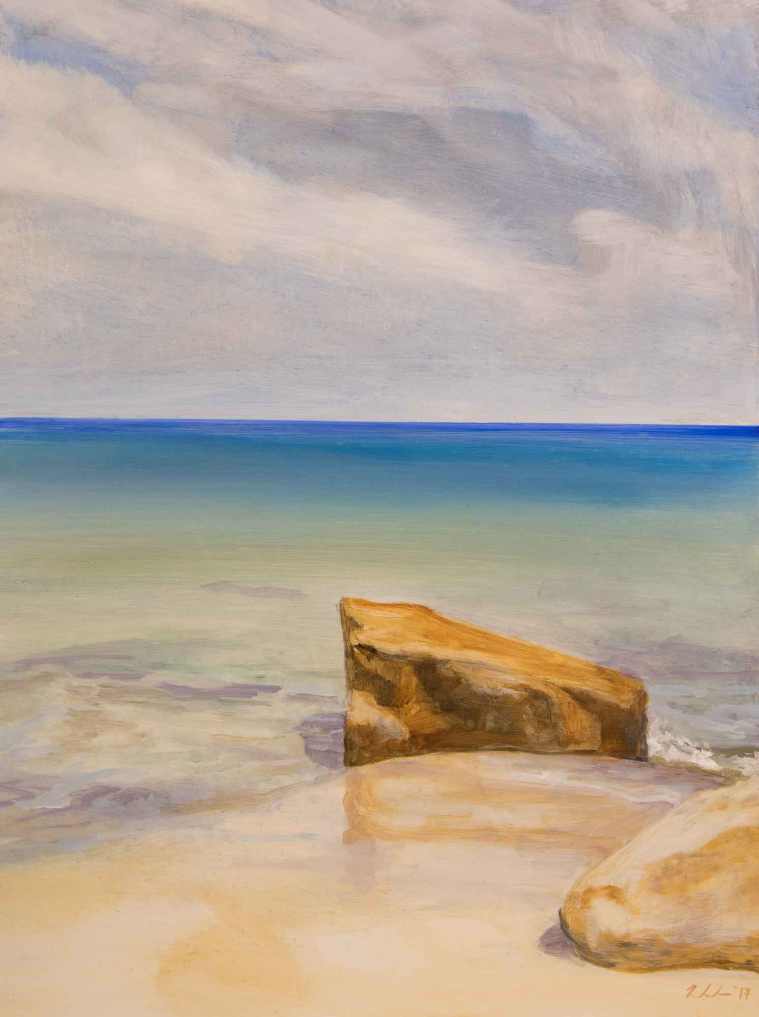 Private Beach 1 by  Cynthia Woehrle - Masterpiece Online