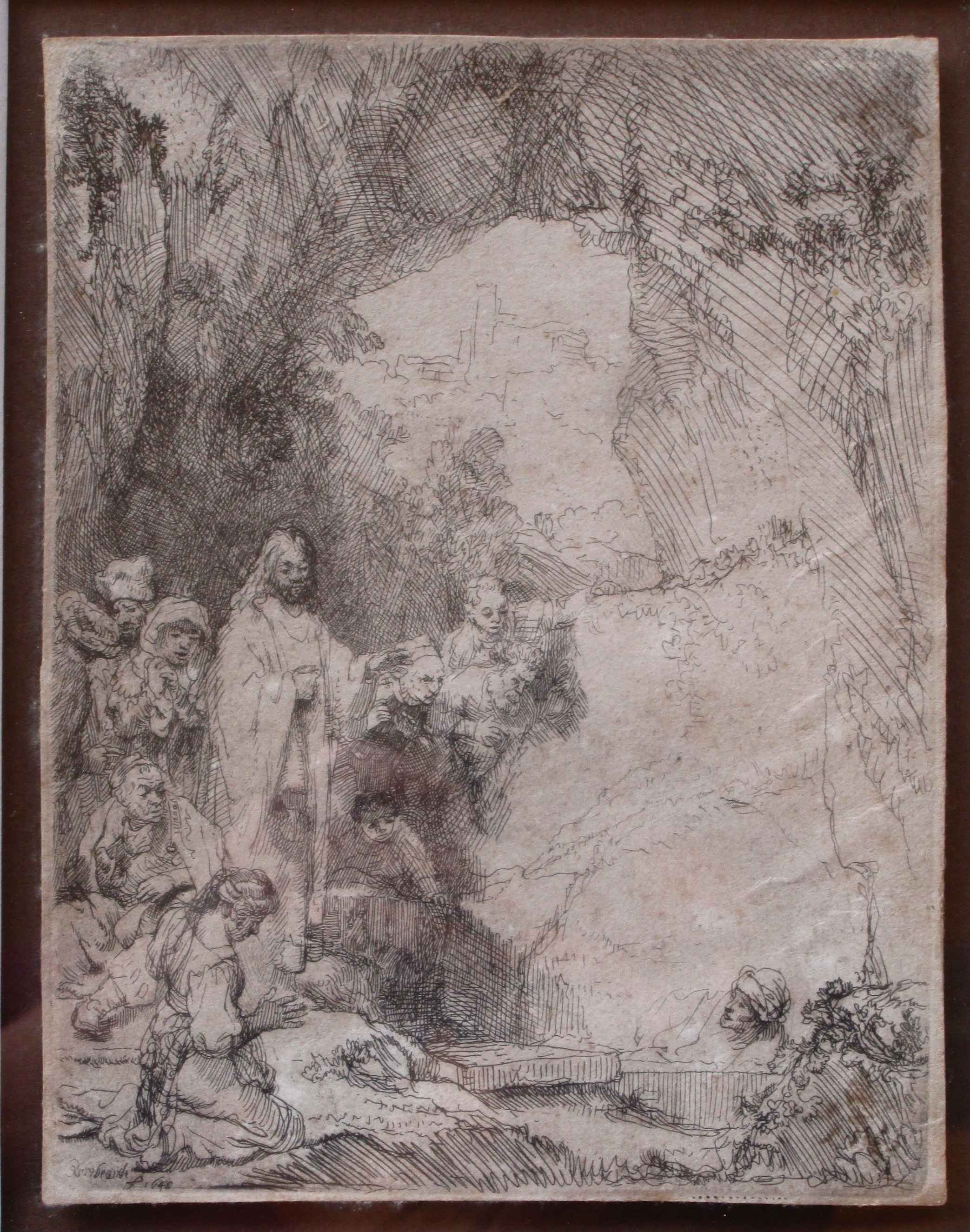 Raising of Lazarus by  Rembrandt van Rijn - Masterpiece Online