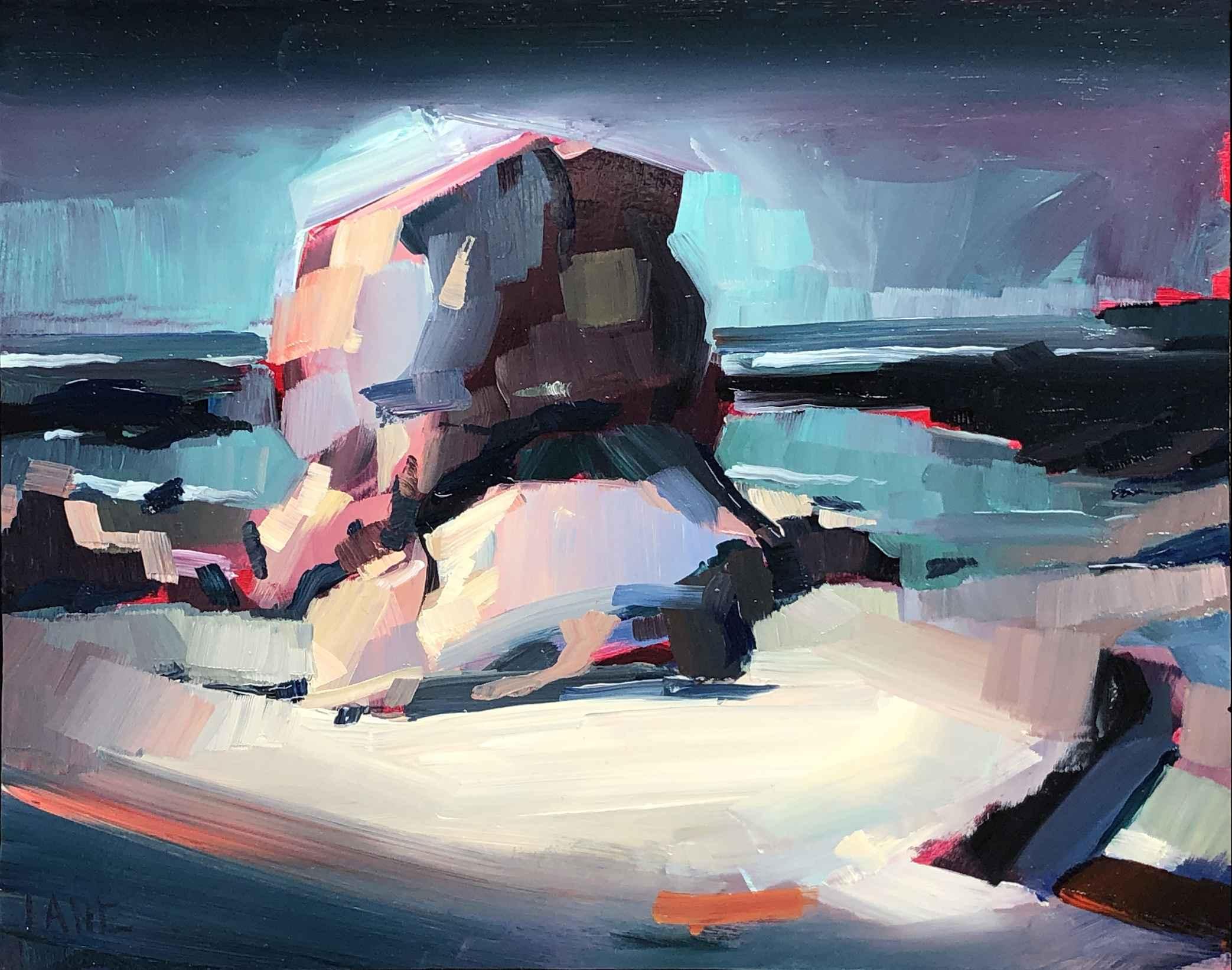 Box Rock, Midnight by Mr. Lane Bennion - Masterpiece Online