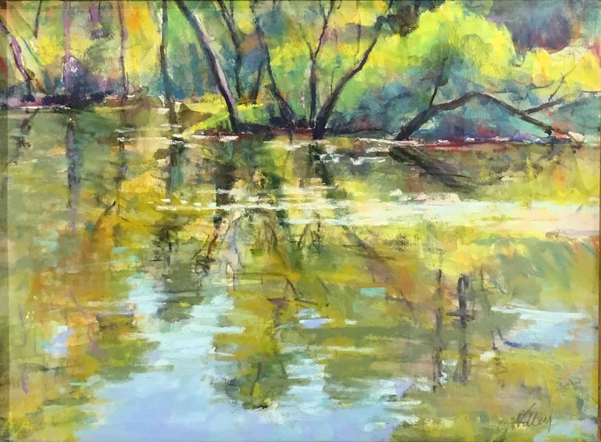Lake Quivera Wild Side by  Chris Willey - Masterpiece Online