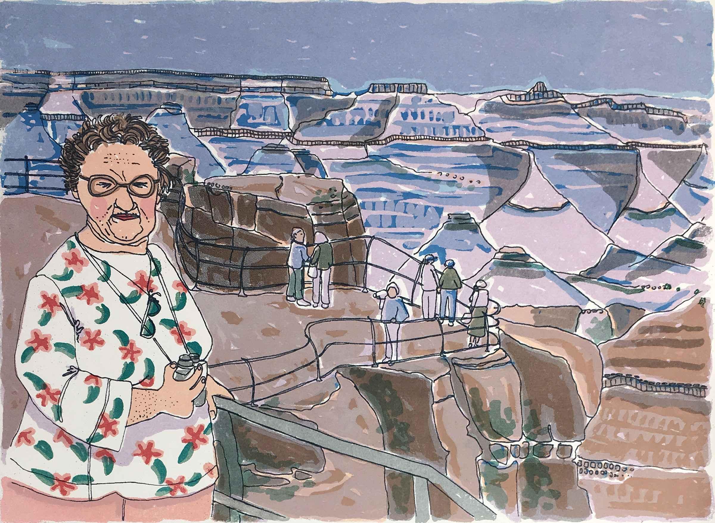 Wanda at 7200 Ft. by  Ann L. Carter - Masterpiece Online