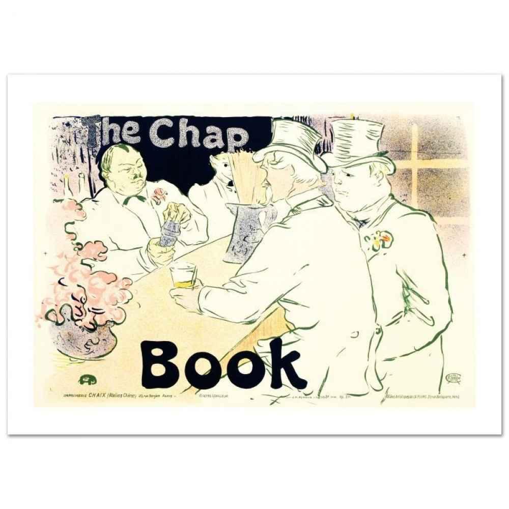 The Chap Book by  Henri de Toulouse Lautrec - Masterpiece Online