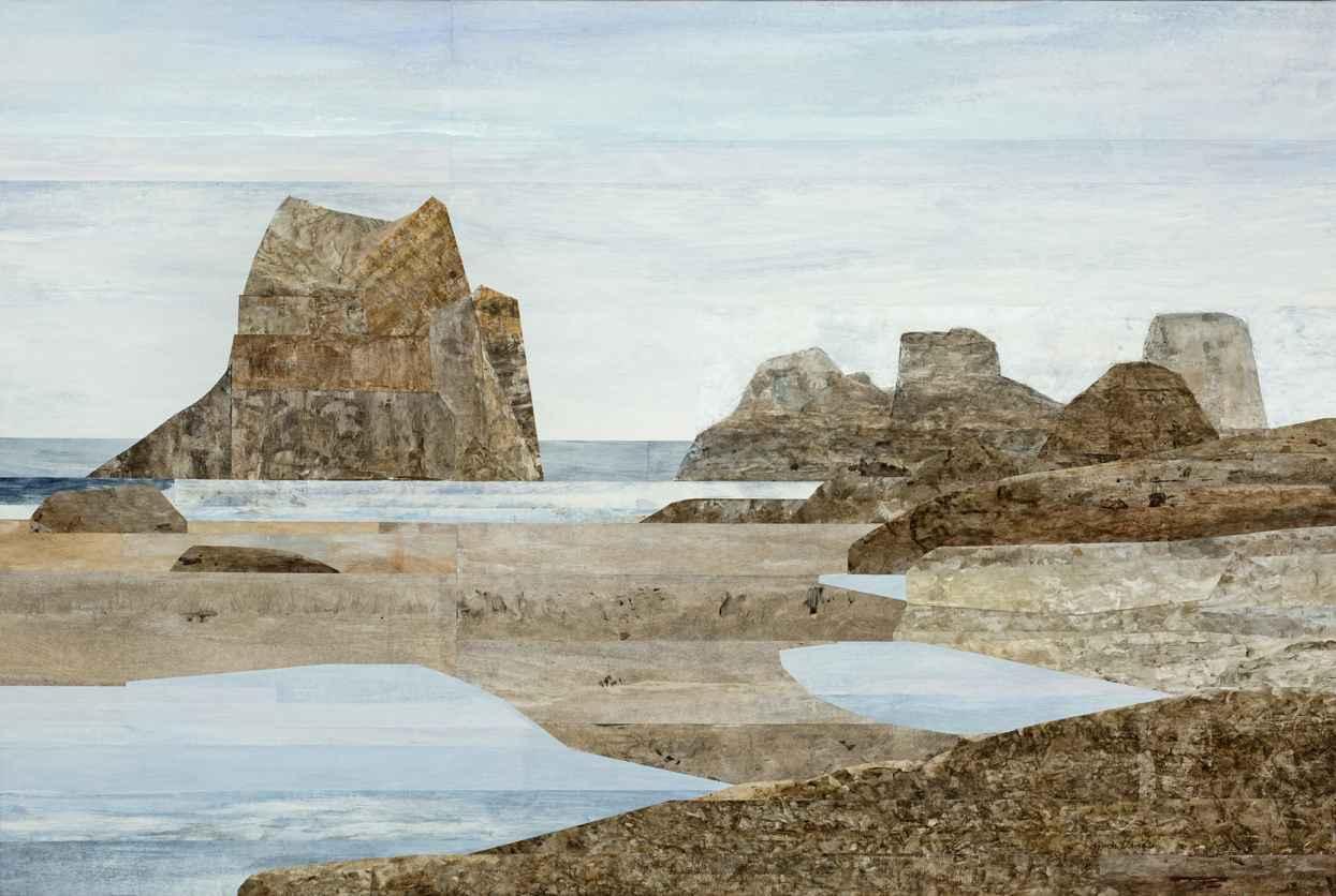 Crescent Beach II by Ms. Gwen Davidson - Masterpiece Online