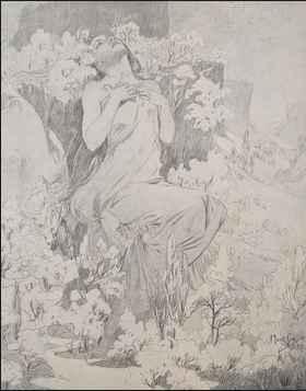 KBE - 1899 Original C... by  Alphonse Mucha - Masterpiece Online