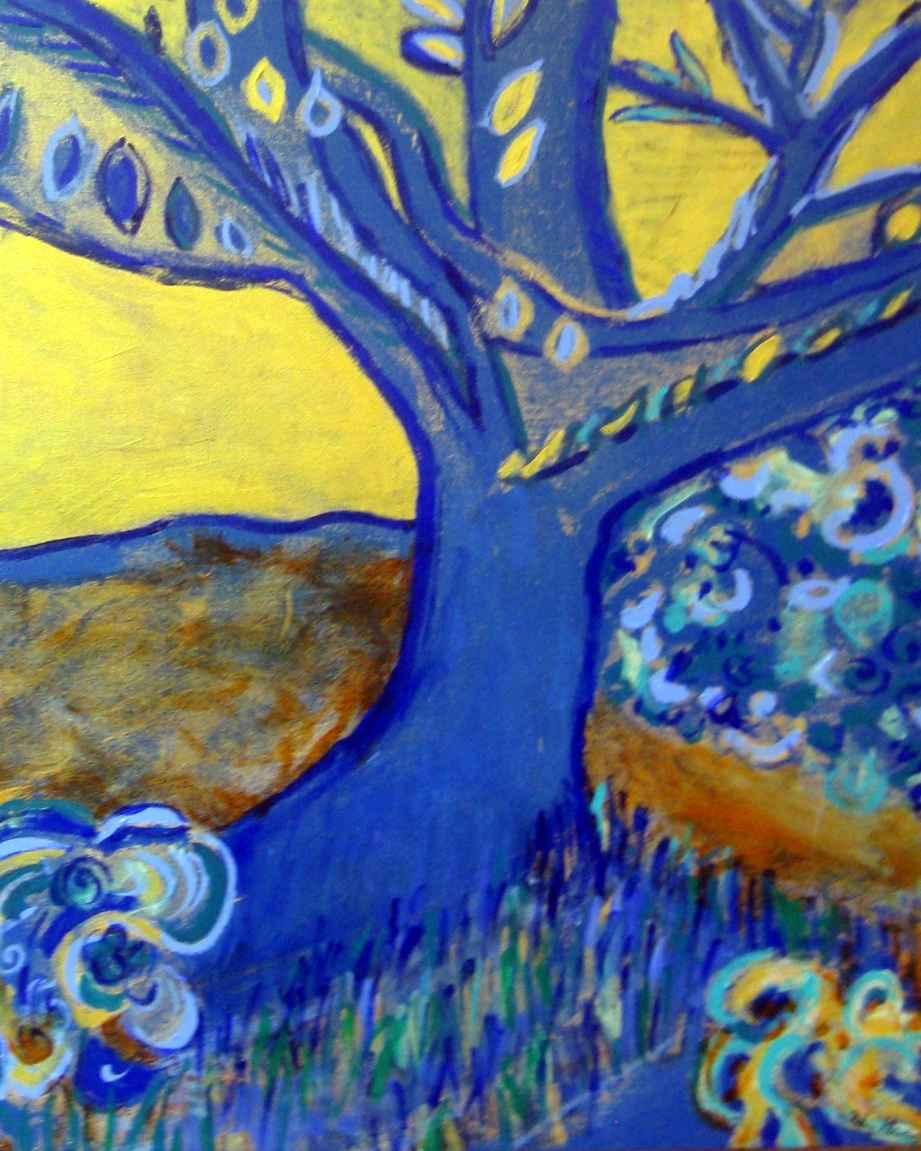 The Garden Tree 2011 by  Hedy Klineman - Masterpiece Online