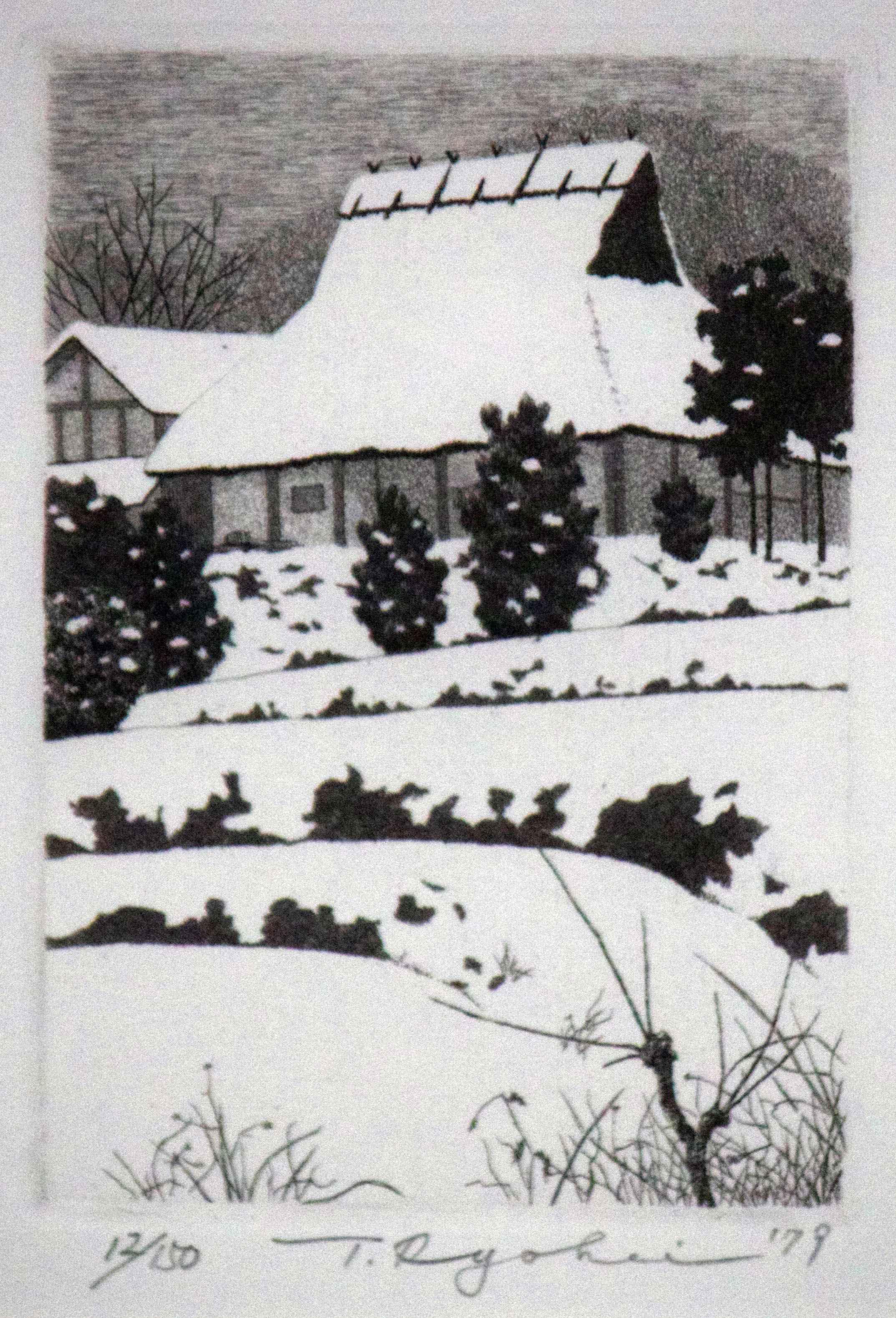 Snow Scene by  Ryohei Tanaka - Masterpiece Online