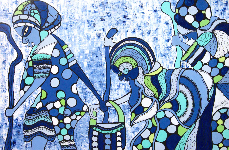 Traditional Cane by Mr Daniel Ekanem - Masterpiece Online