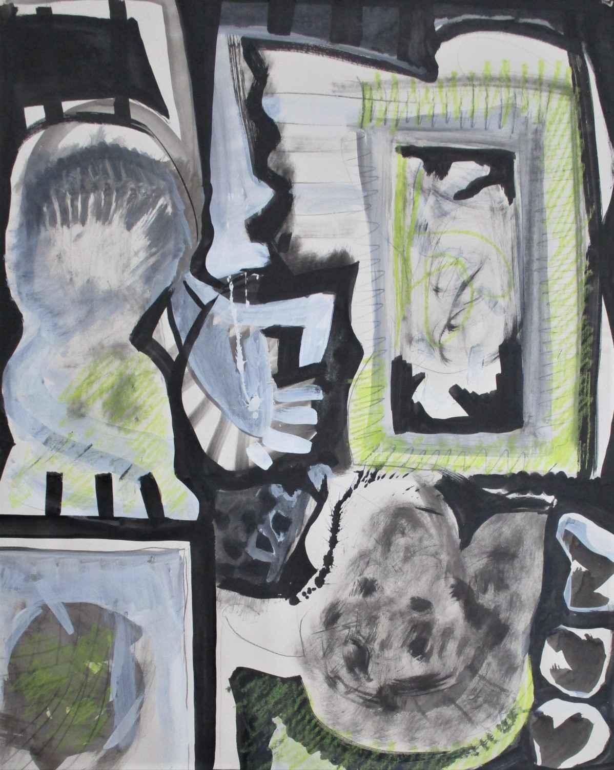 Untitled ( study in y... by  Milton Wilson - Masterpiece Online
