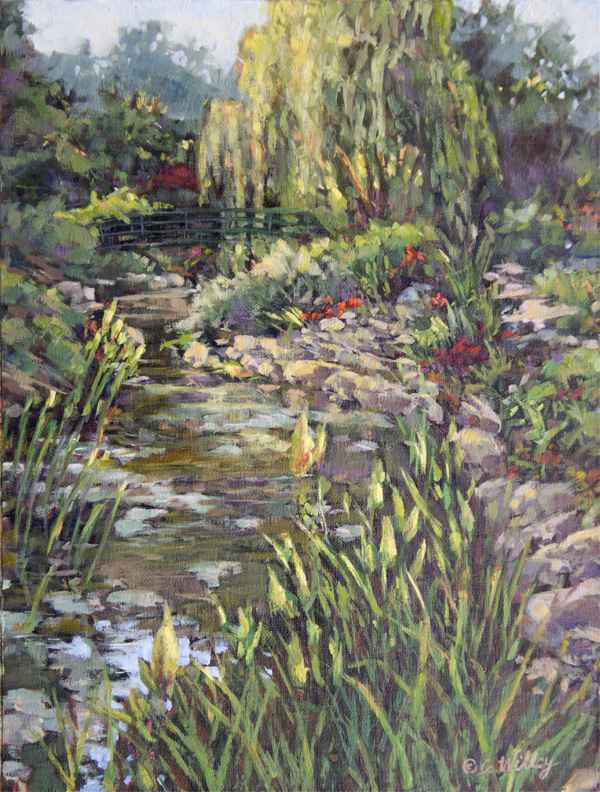 Kansas Giverny by  Chris Willey - Masterpiece Online