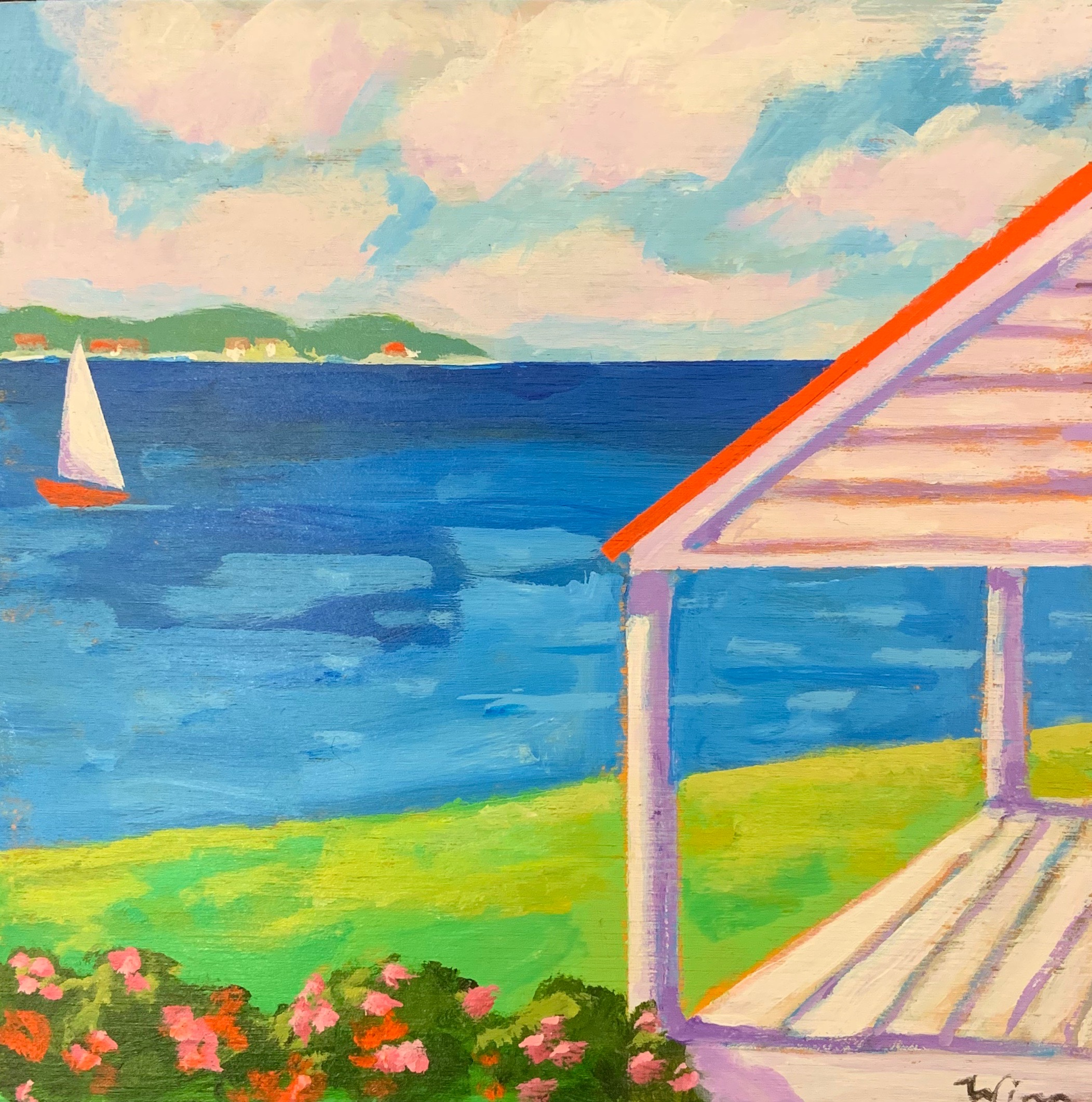 Summer Porch M.V. by  Kate Winn - Masterpiece Online