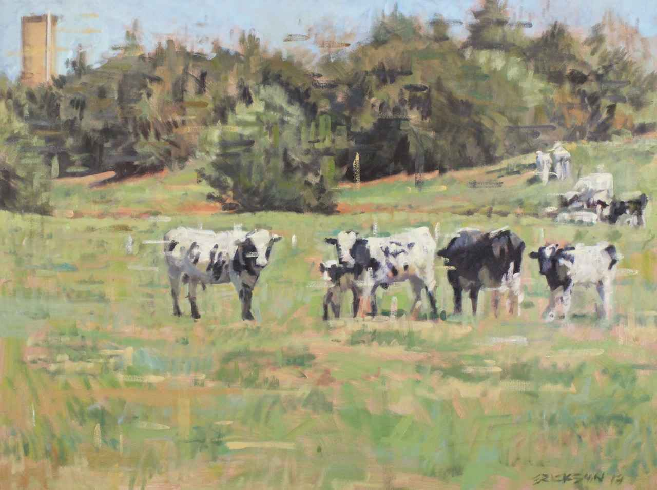 Jersey Cows by  James Erickson - Masterpiece Online