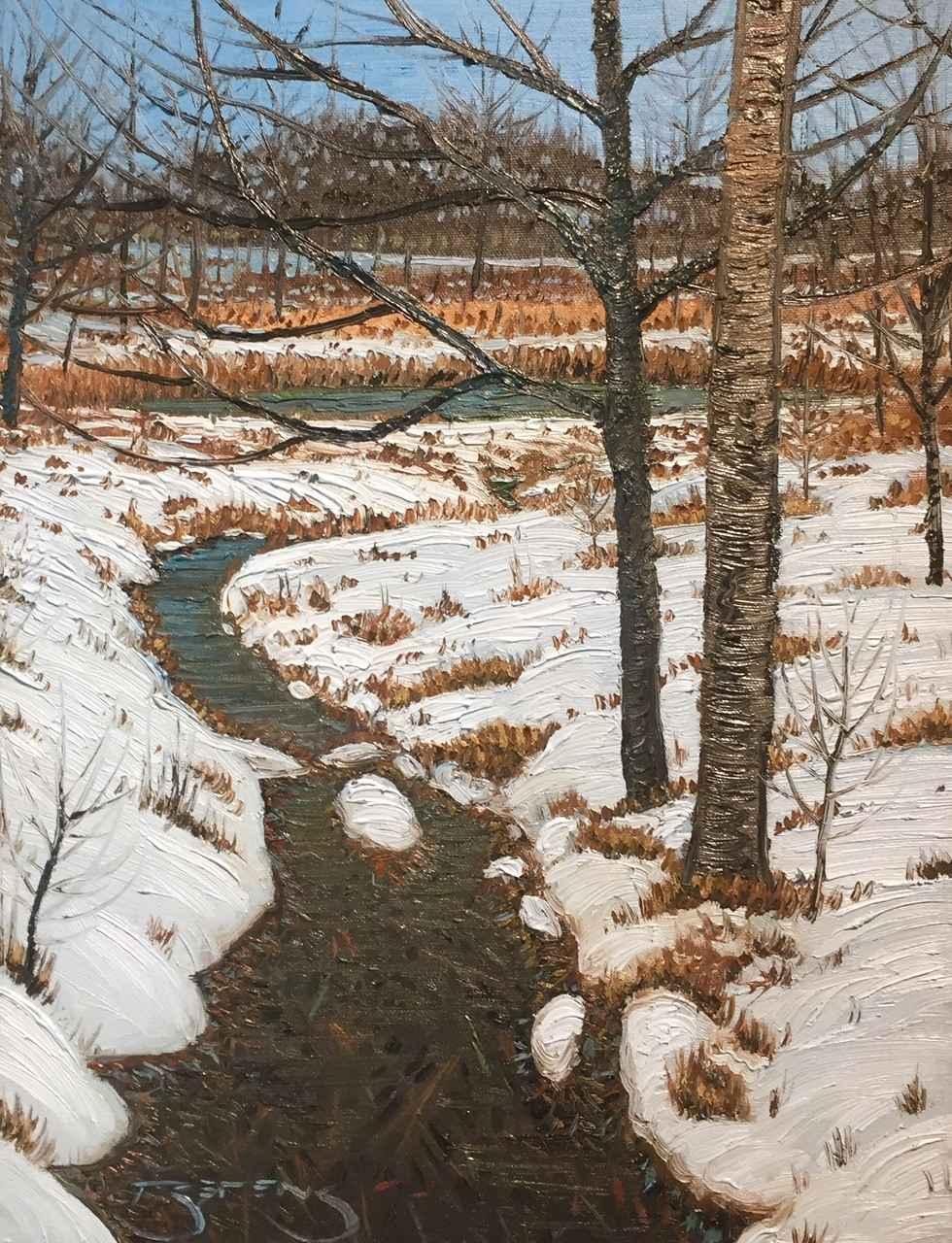 Spring Creek #3, Nois... by  Mark Berens - Masterpiece Online
