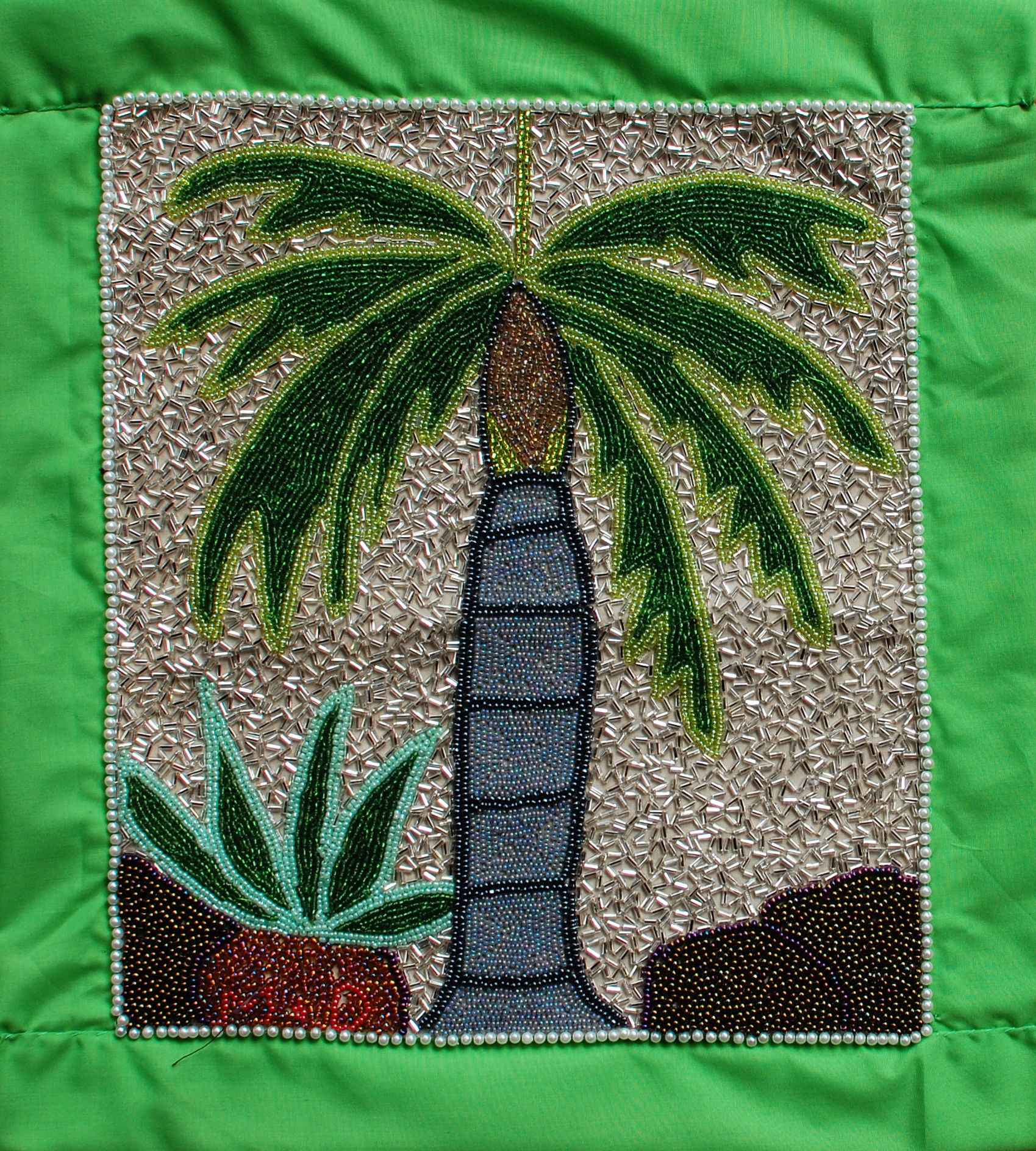 The Palm Tree by  Mireille DELISME - Masterpiece Online