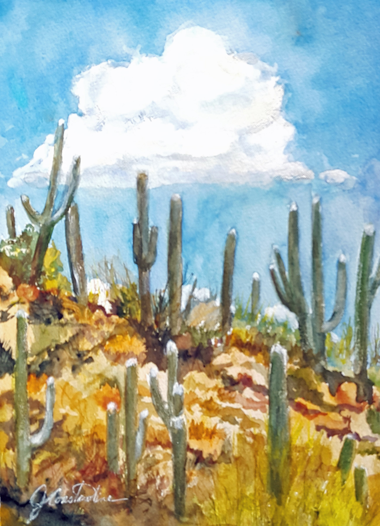 Cloud on the Ridge by  Judy Constantine - Masterpiece Online