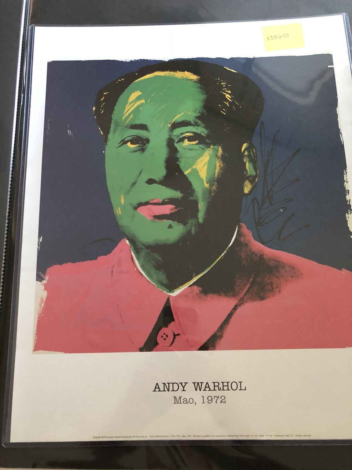 Mao (Blue/Green) by  Andy Warhol - Masterpiece Online