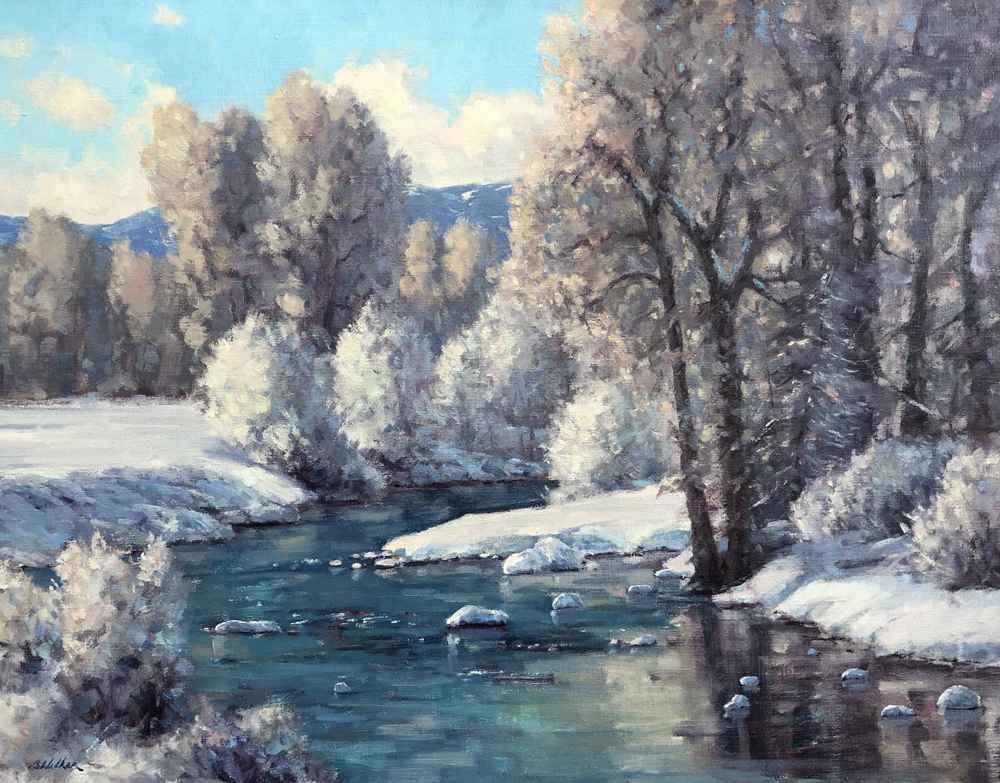 Frosty Morning  by  Bart Walker
