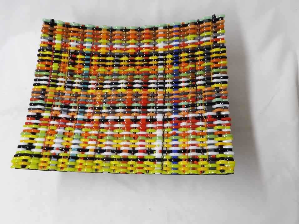 Woven Plate Square by  Joe Speck - Masterpiece Online