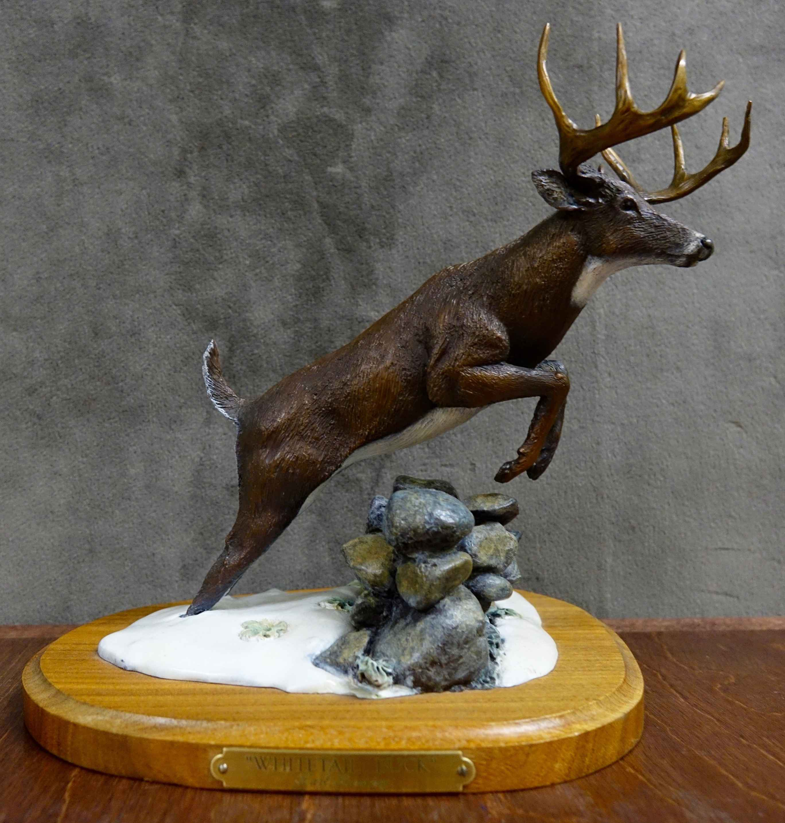 Mini's-Whitetail #33/... by  Karl Lansing - Masterpiece Online