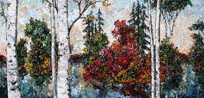 Birch 162000 by  Maya Eventov - Masterpiece Online