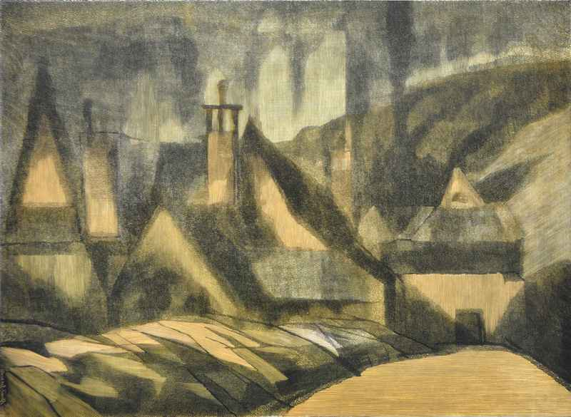 Paysage (1969) by  Bernard Brussel-Smith (1914-1989) - Masterpiece Online