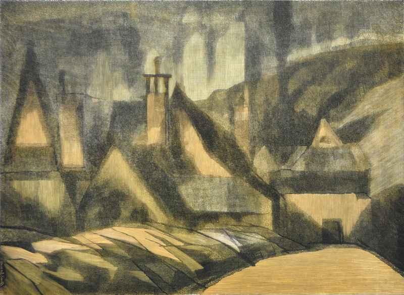Paysage (1969) by  Bernard Brussel-Smith (1914-1989) - Masterpiece Online