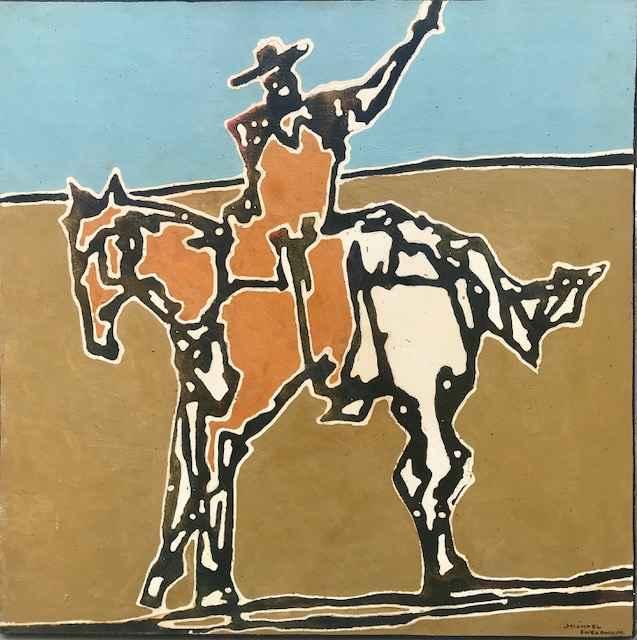 Modern Buckaroo I by  Michael Swearngin - Masterpiece Online