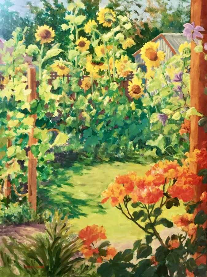 Backyard Paradise by  Robyn Lake - Masterpiece Online