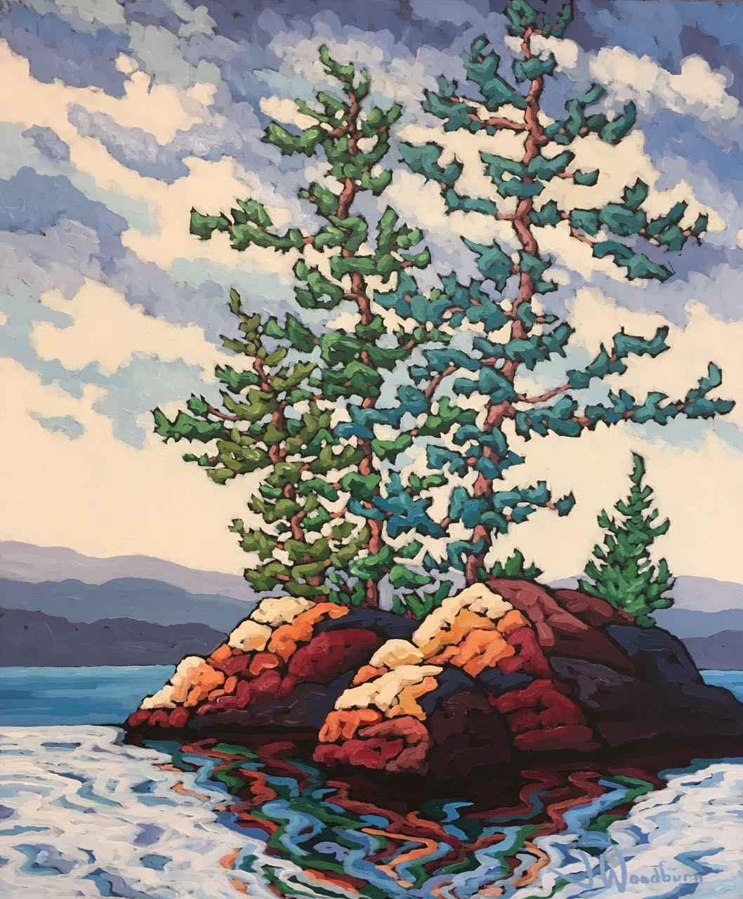 Knowles Island Commis... by Ms Jennifer Woodburn - Masterpiece Online