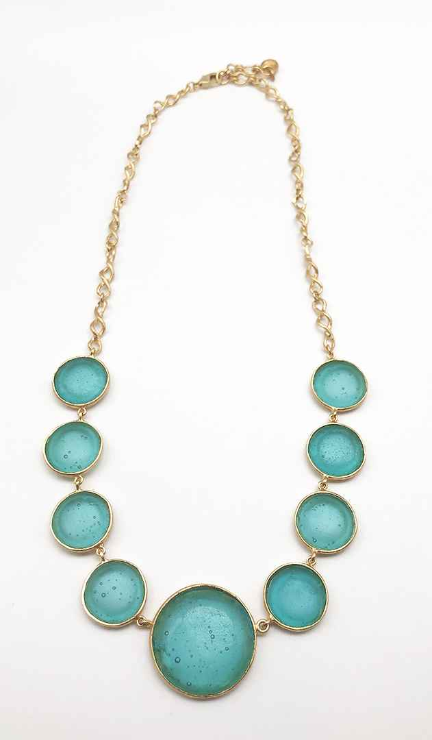 Disc Chain Necklace 16