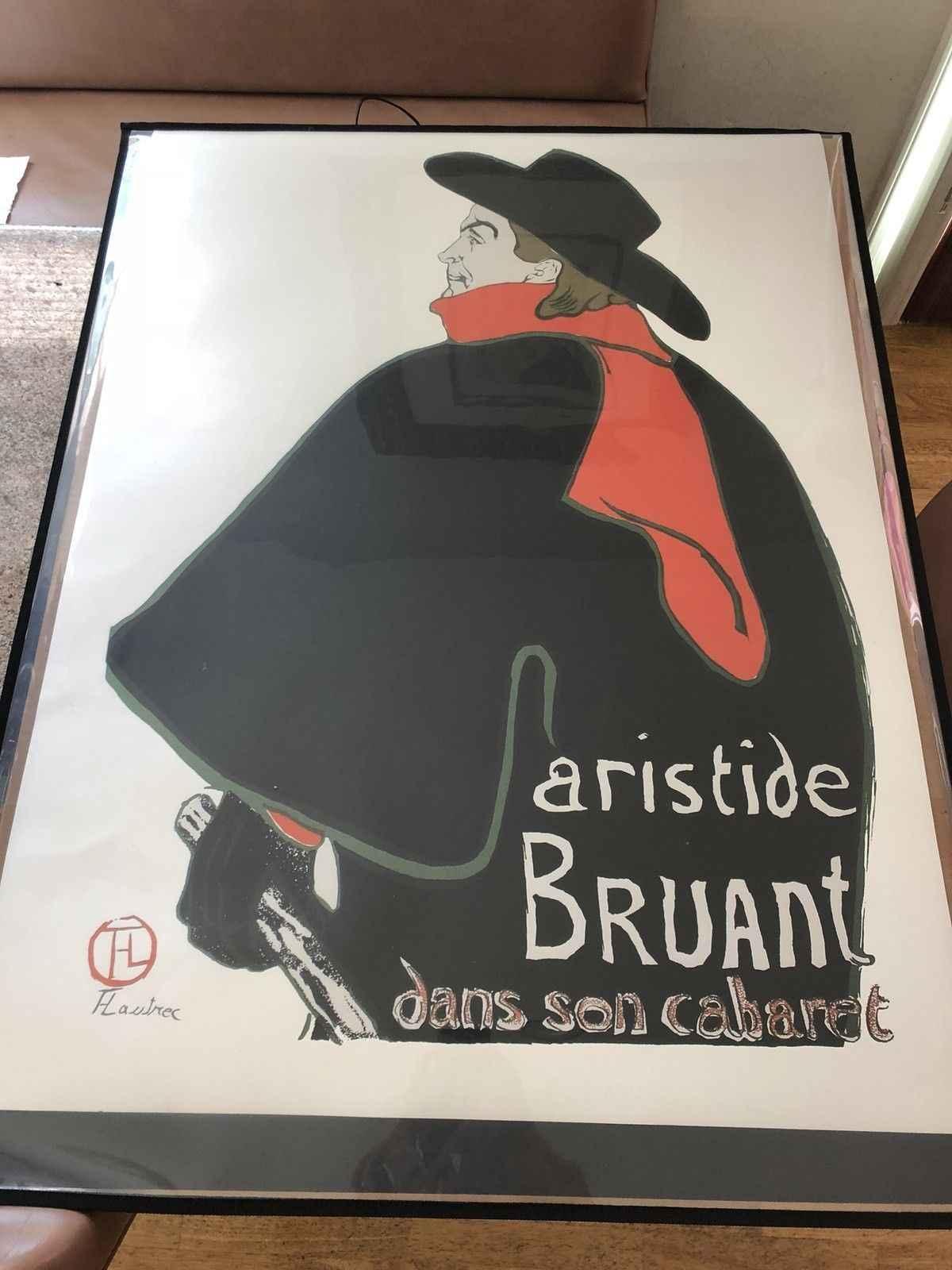 Aristide Bruant Dans ... by  Henri de Toulouse Lautrec - Masterpiece Online
