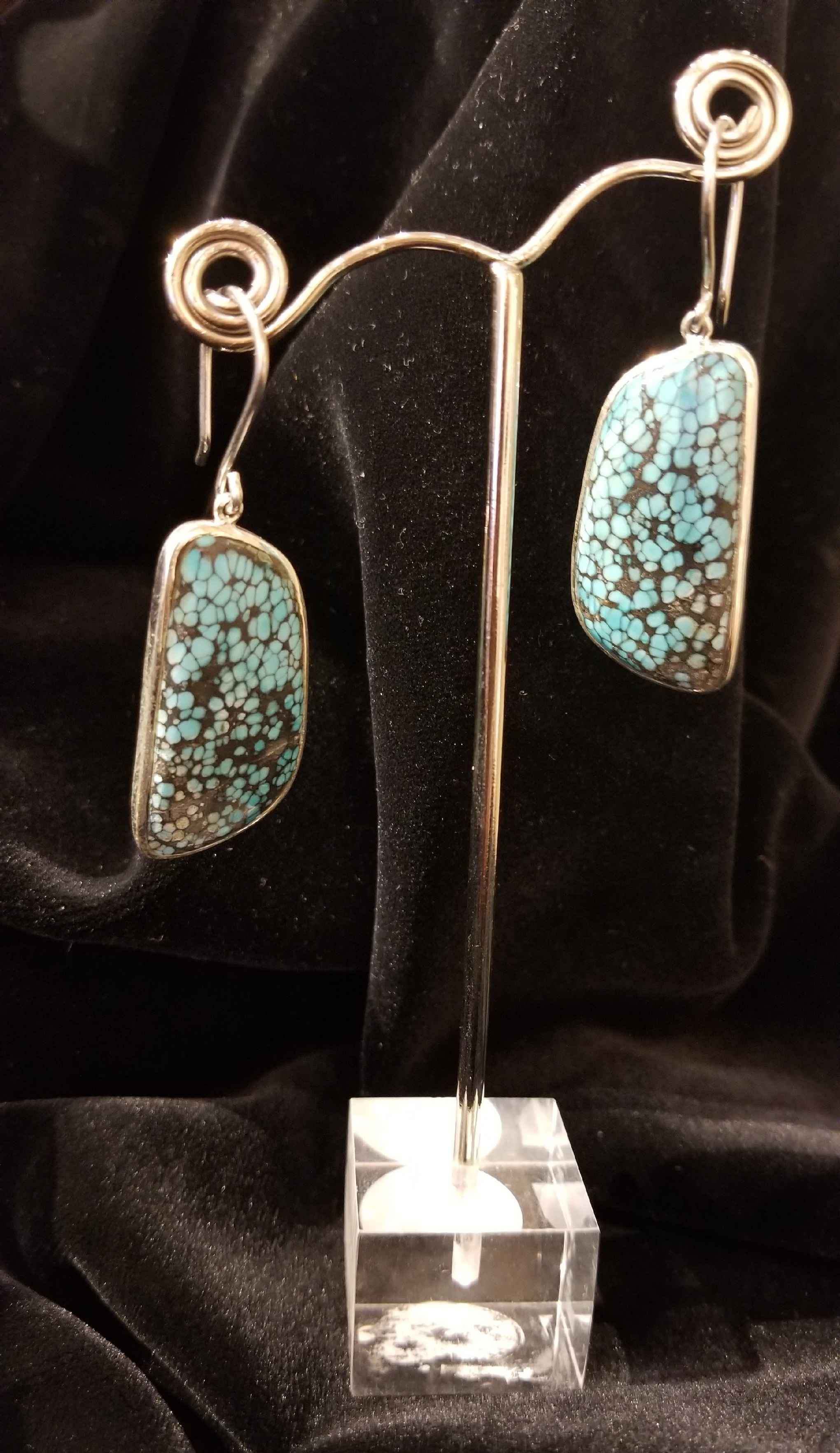 Turquoise Oblong Drop... by  Starborn  - Masterpiece Online