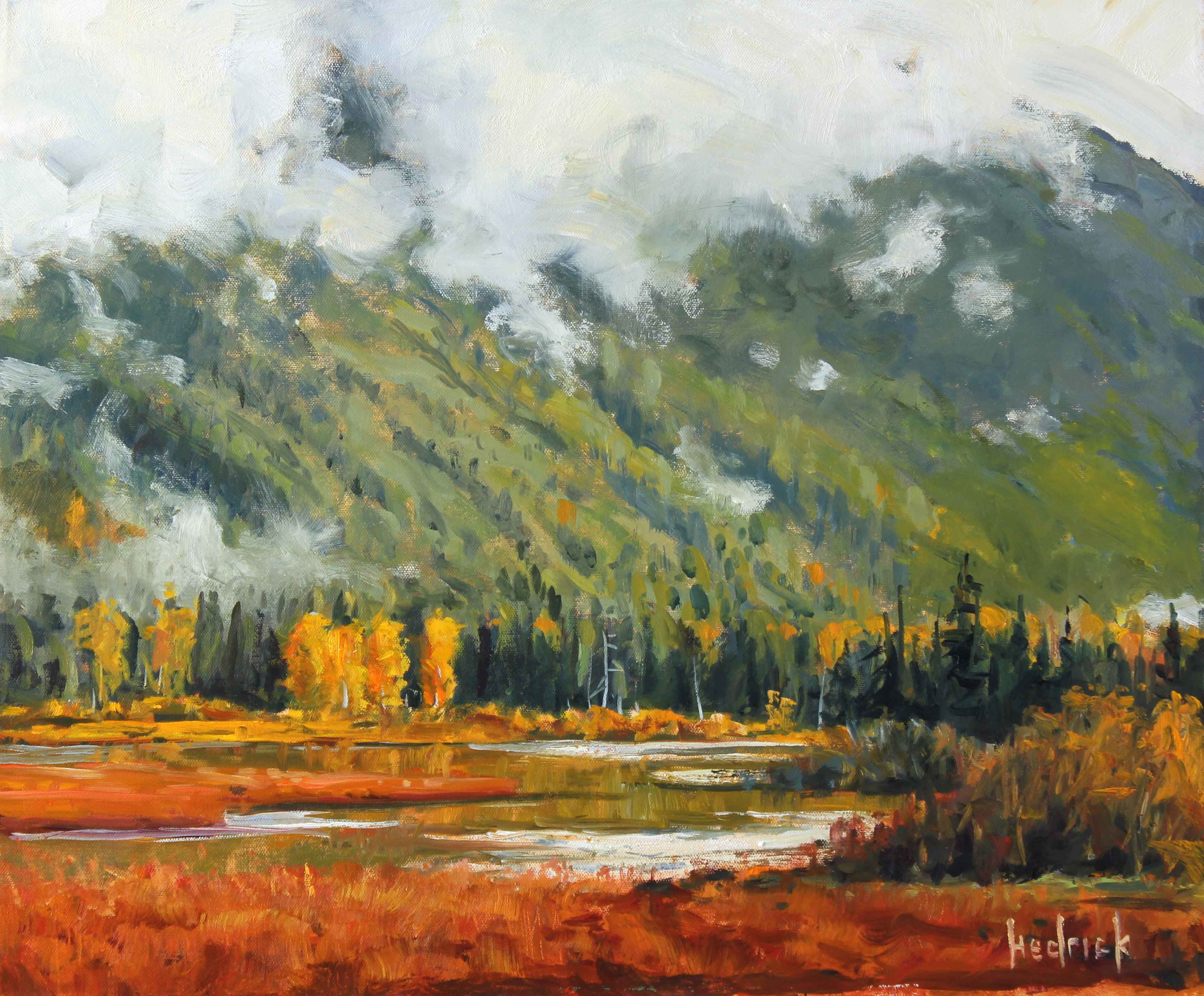Low Clouds  by  Ron Hedrick