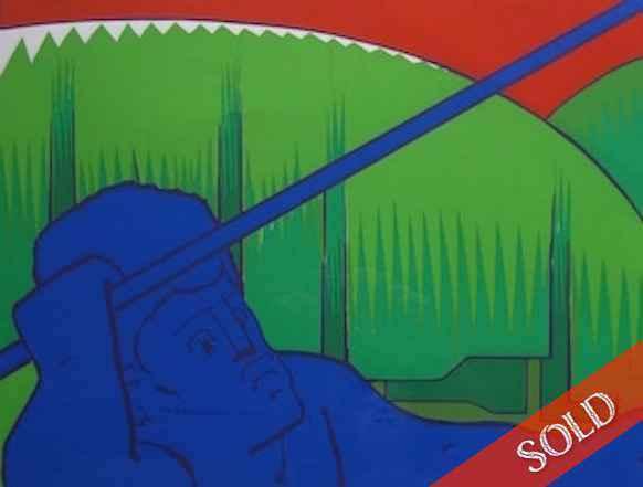 Spear Thrower, 15/200 by  Jean Charlot (1898-1979) - Masterpiece Online