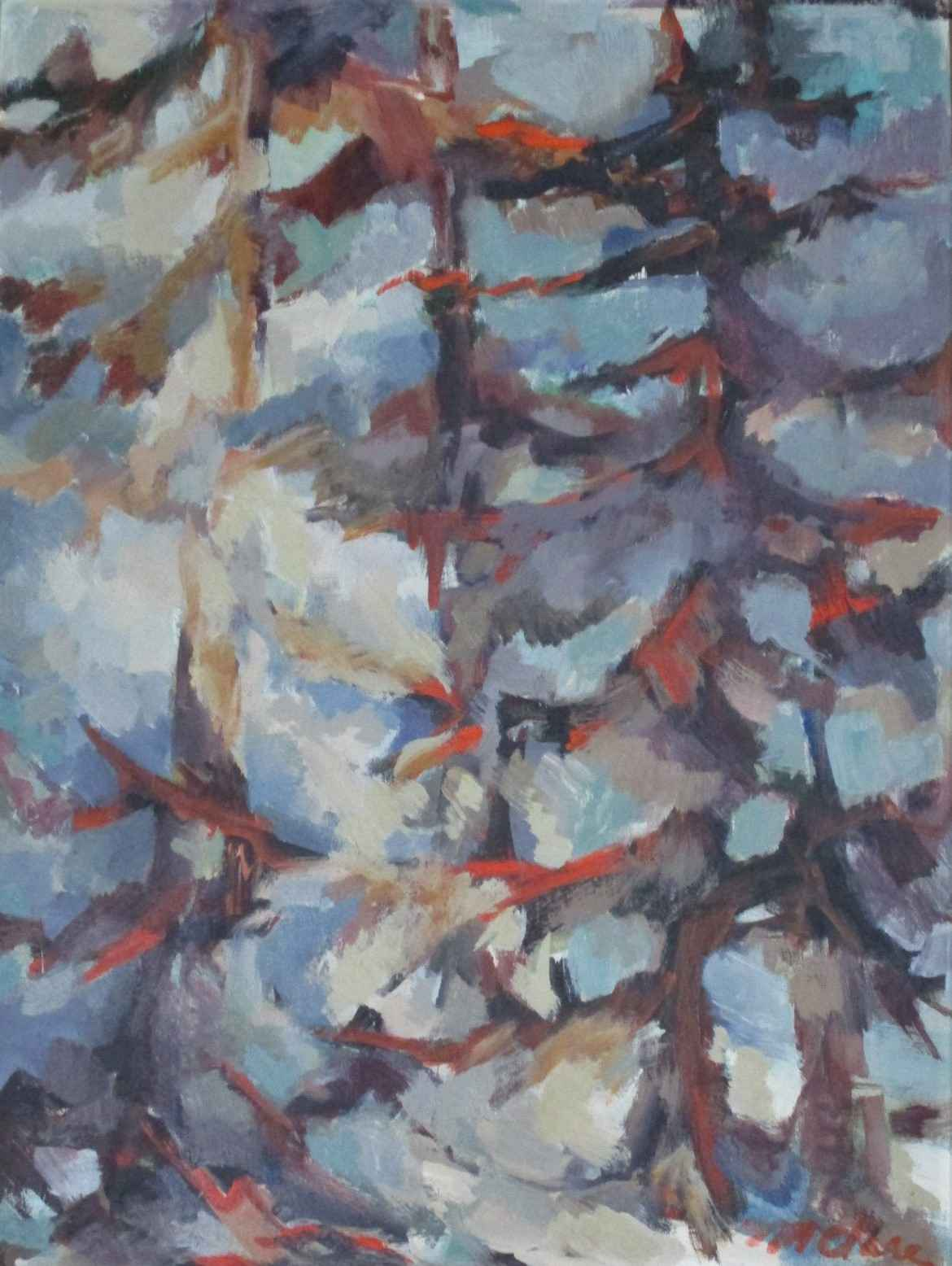 Unknown (trees) by Sister Mariam Clare - Masterpiece Online