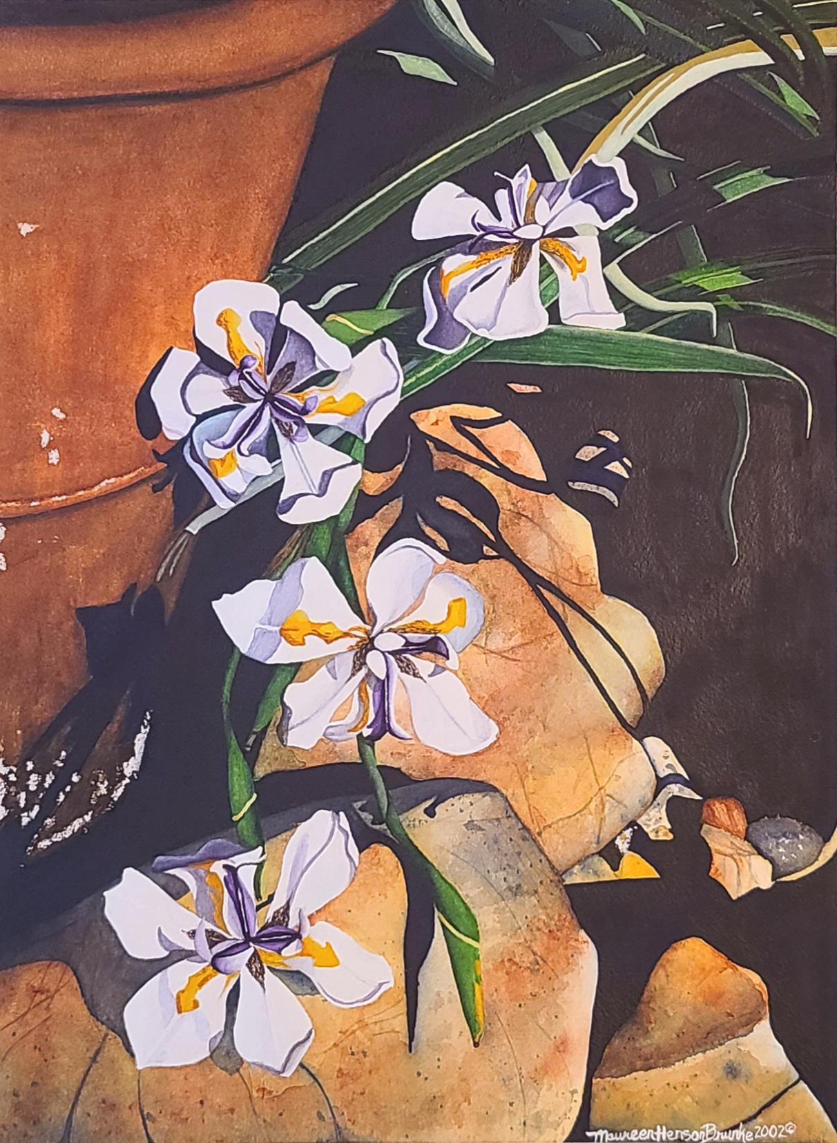 Daylilies 2 by  Maureen Henson-Brunke - Masterpiece Online