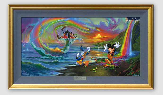 Mickey and the Boys a... by  Jim Warren - Masterpiece Online