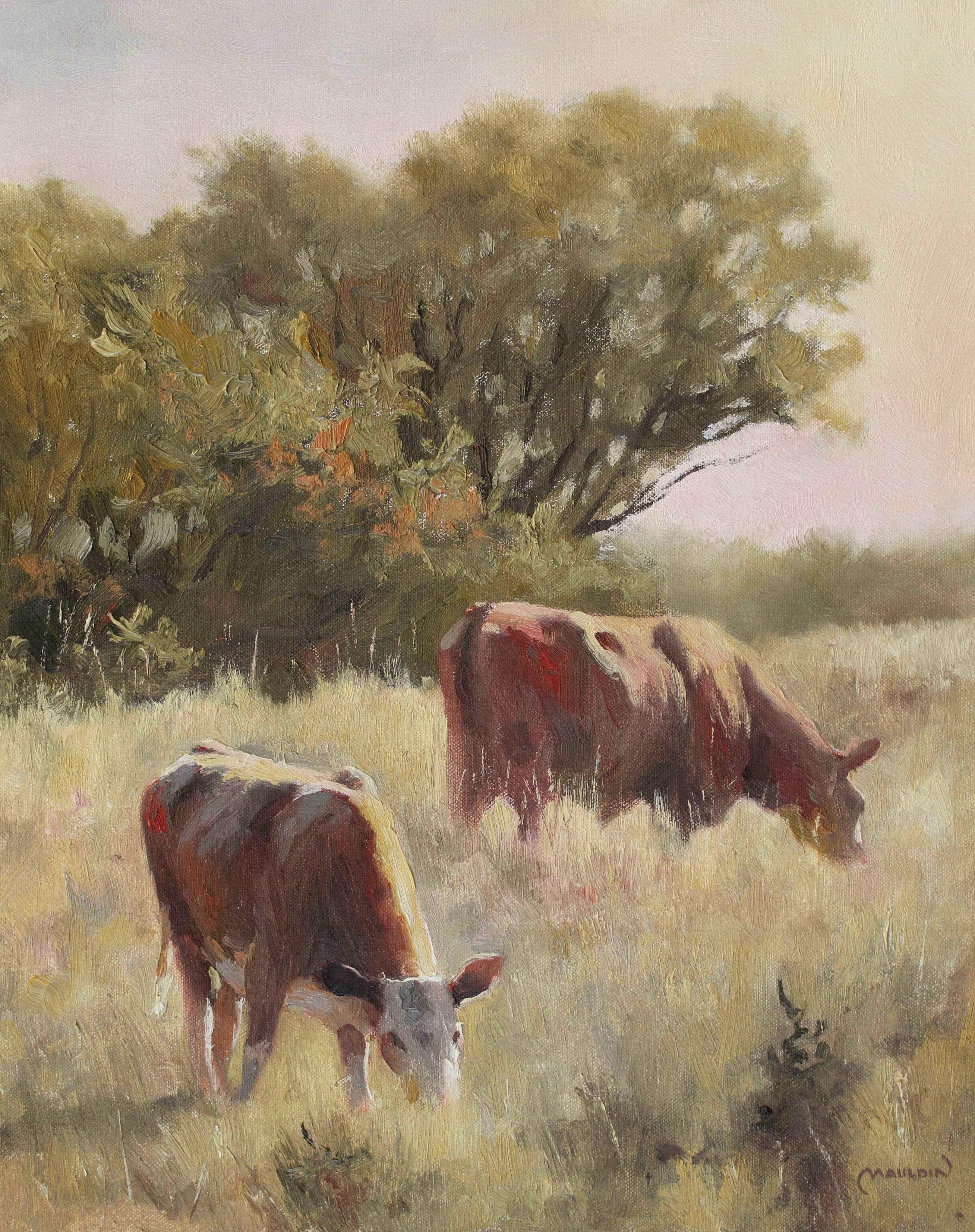 Grass Guzzlers by  Chuck Mauldin - Masterpiece Online
