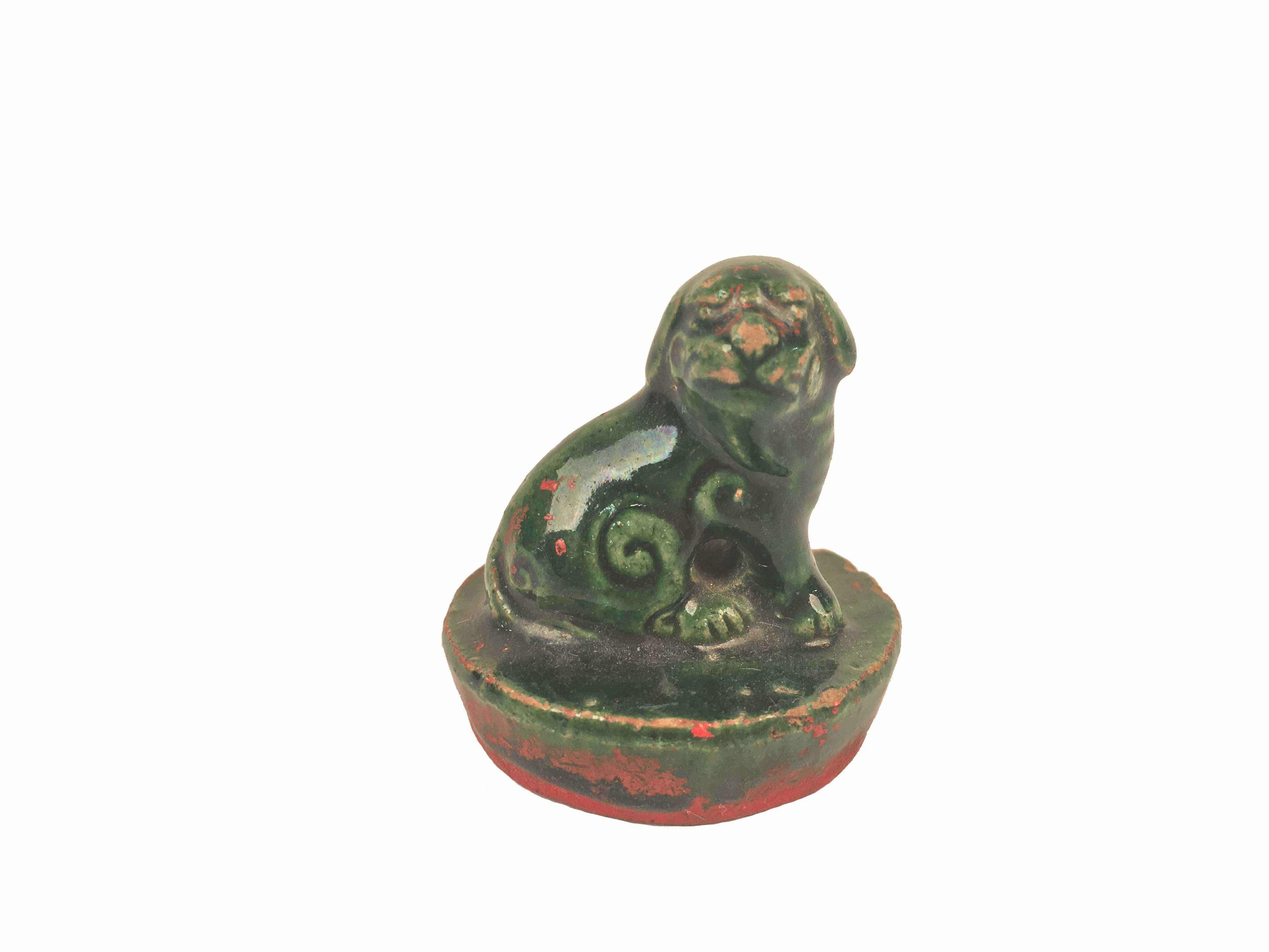 CHINESE CERAMIC SEAL by    - Masterpiece Online