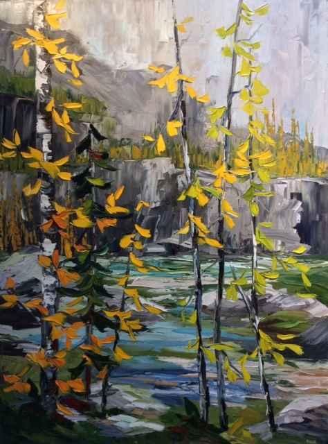 Aspen Glory by  Rachelle Brady - Masterpiece Online