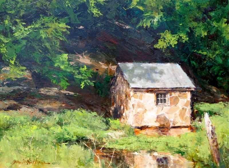 Spring House by  John Austin Hanna - Masterpiece Online