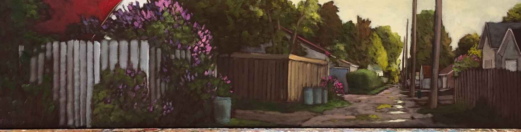 Quiet Spring Walk by  Kari Duke - Masterpiece Online