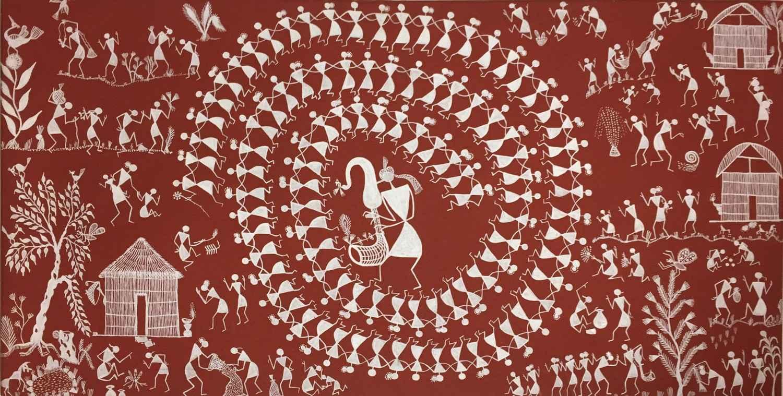 Danse Tarpa by  WARLI ART - Masterpiece Online