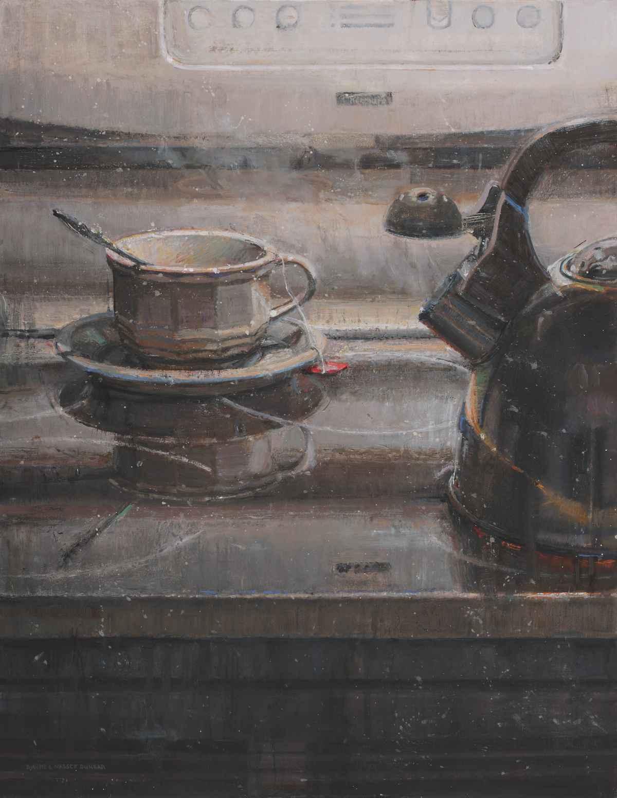 Sleepy Time Tea by  Dianne Massey Dunbar - Masterpiece Online