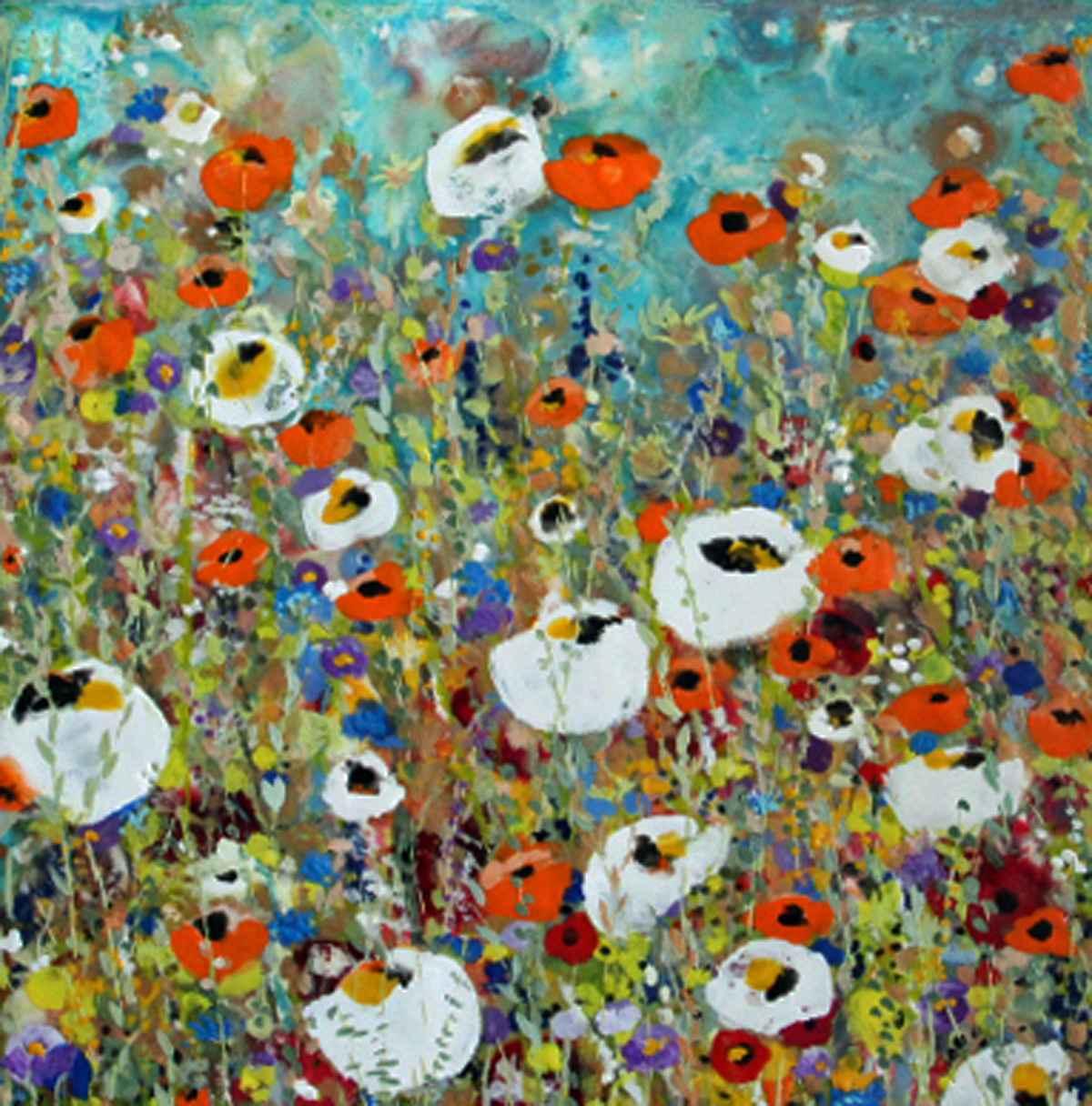 Inside the Garden by  Terri Lockwood - Masterpiece Online